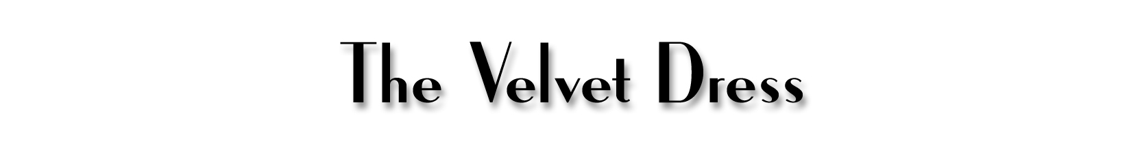 The Velvet Dress Blog