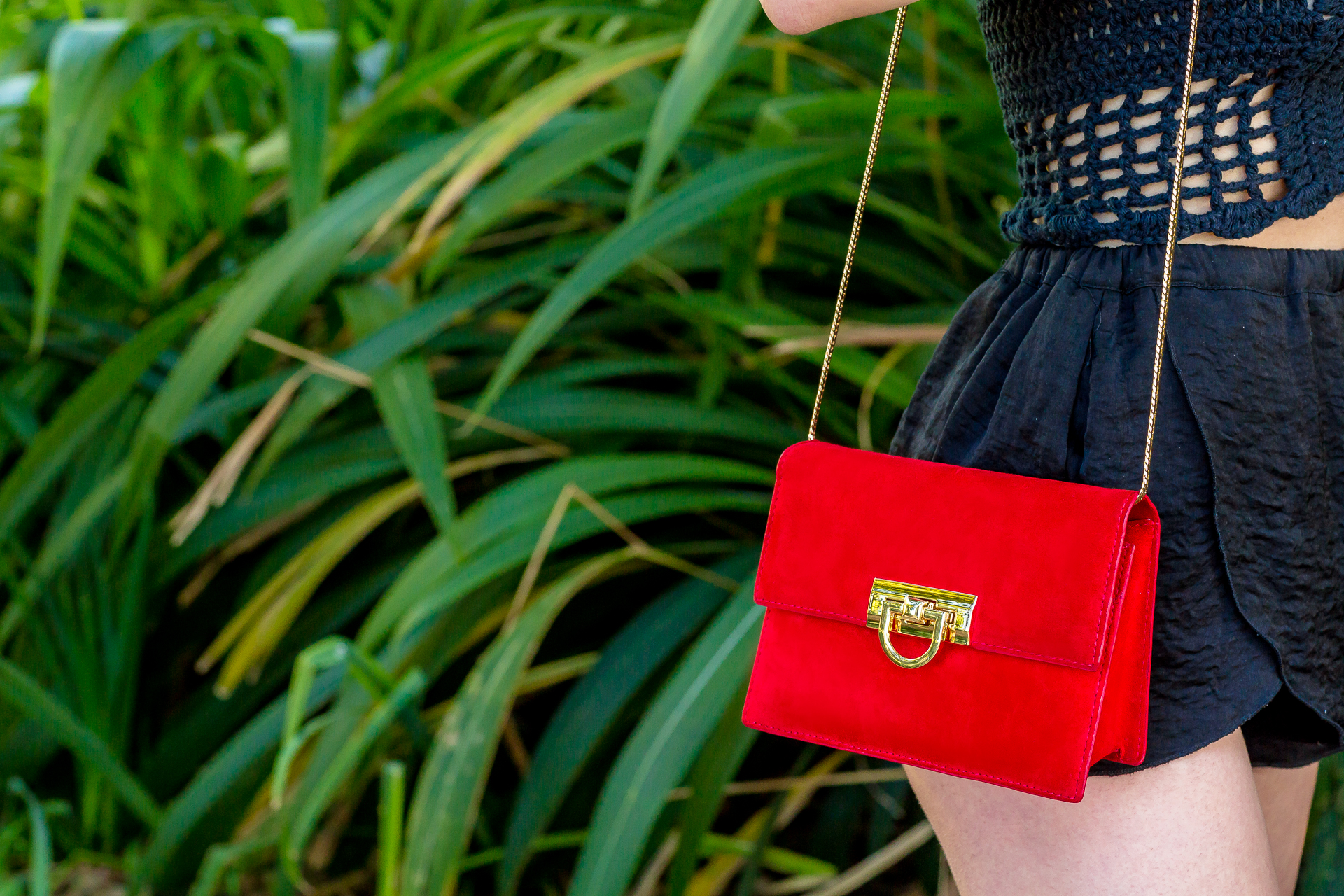 Red Purse DavidTruuu 08 Festival Lookbook 2/3: Crochet Tops