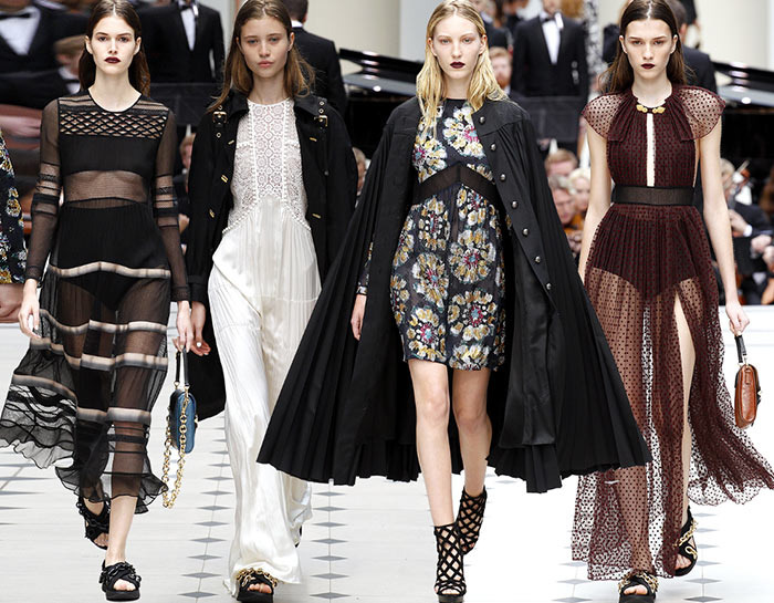 Burberry Prorsum spring summer 2016 collection London Fashion Week1 zpscwehjg6f Fashion Week Fall 2015 Favorite Designers