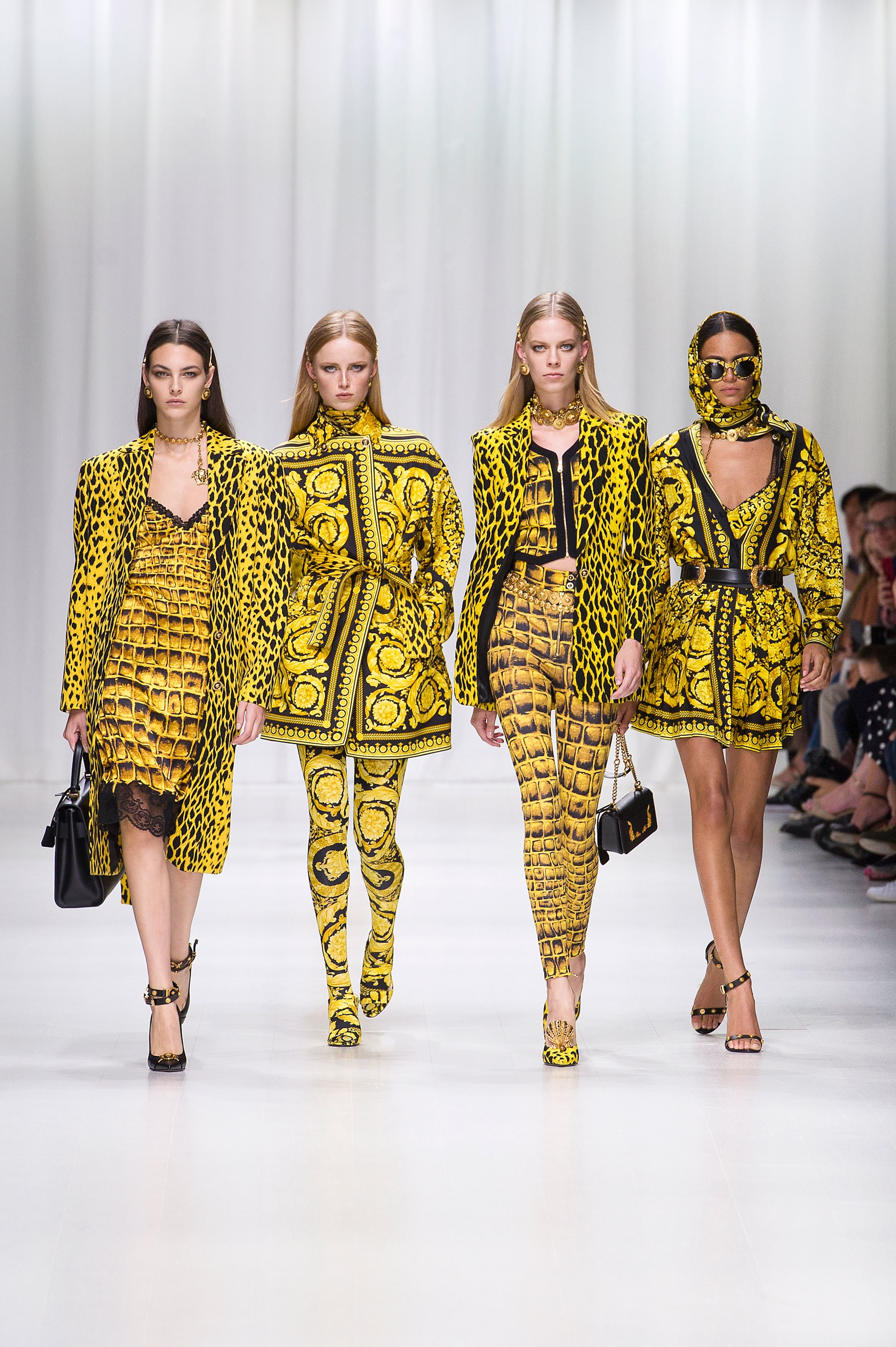 versace women SS18 1 1 Fashion Month Favorite Designers 2017