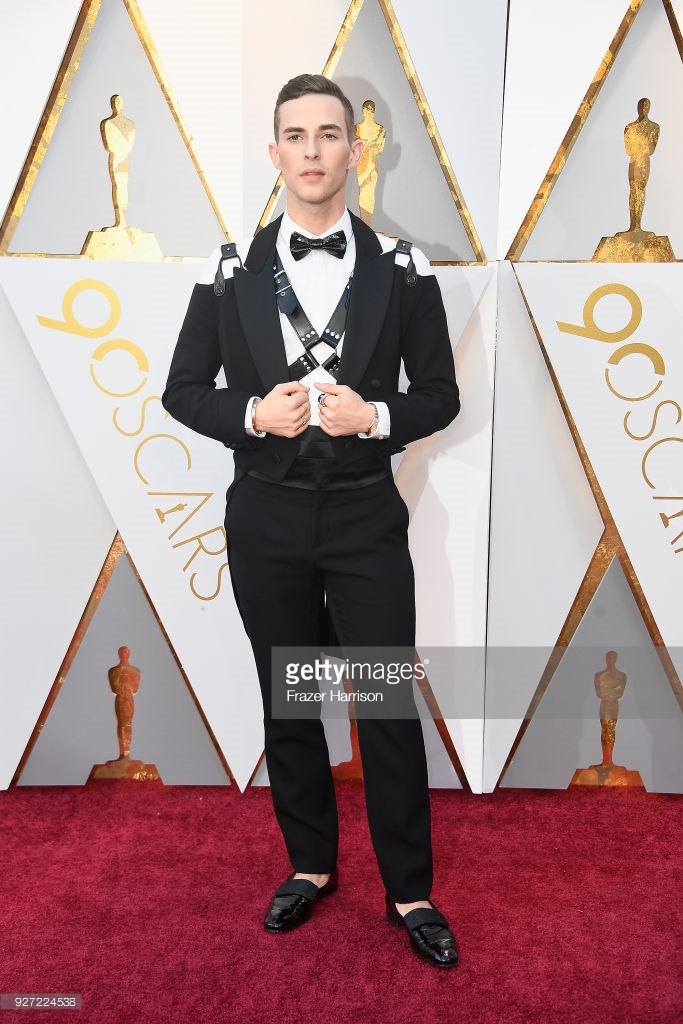 olympic medalist adam rippon attends the 90th annual academy awards picture id927224538 Best Dressed: Oscars 2018