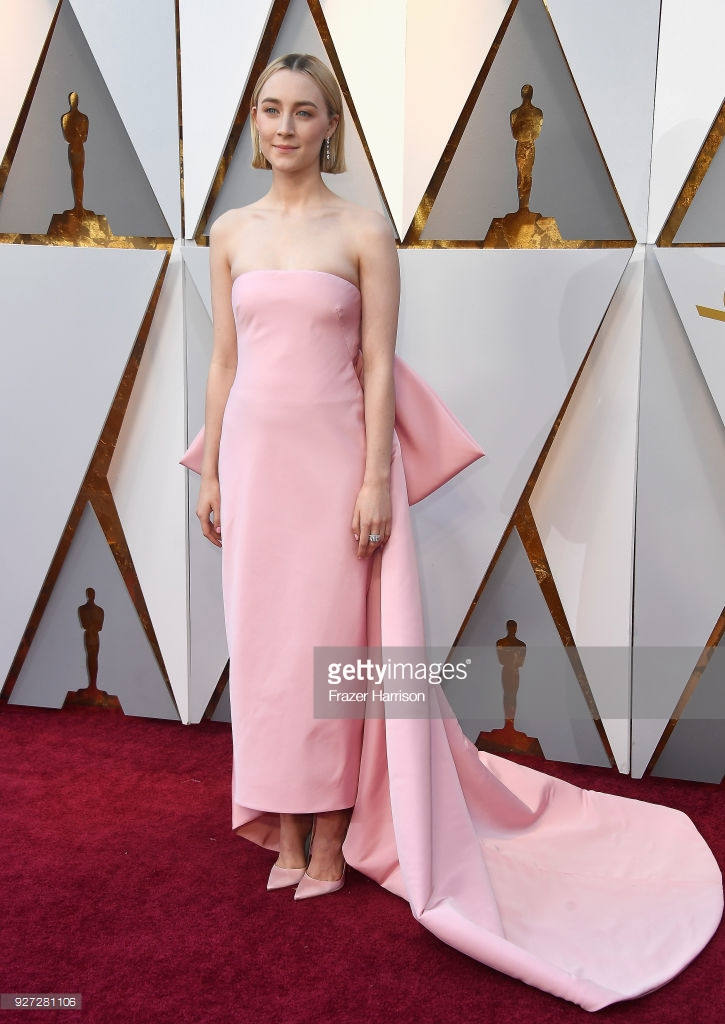 saoirse ronan attends the 90th annual academy awards at hollywood picture id927281106 Best Dressed: Oscars 2018