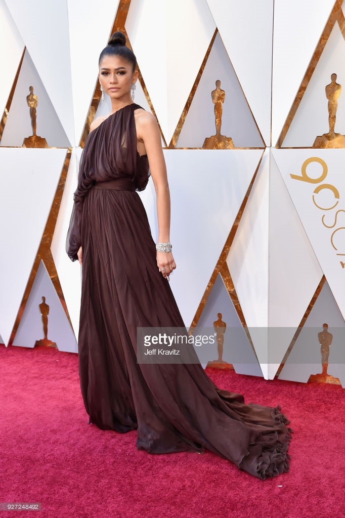 zendaya attends the 90th annual academy awards at hollywood highland picture id927248492 Best Dressed: Oscars 2018
